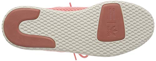 adidas Originals PW Tennis HU Mens Trainers Sneakers (UK 3.5 US 4 EU 36, Pink White BY8715) by adidas (Image #3)