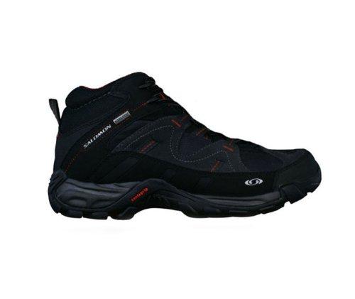 Salomon CAMP SIDE MID W GTX negro Gris Rojo Hombre Zapatillas De Montaña Gore-Tex: Amazon.es: Zapatos y complementos