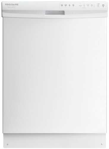 Frigidaire FGBD2434PW 24″ White Full Console Dishwasher – Energy Star