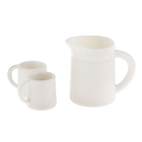 01:12 Poupées Maison Coupes Miniatures & Pot Set