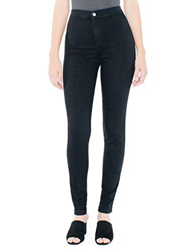 american-apparel-womens-easy-jean-size-l-black