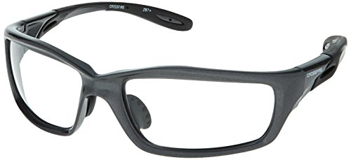 Lens Gray Body - 224 Infinity Grey Frame Clear Lens - Crossfire