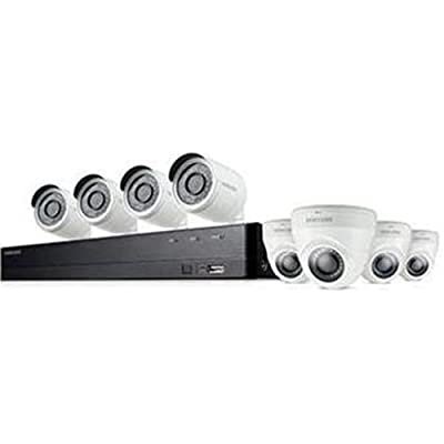 Samsung Wisenet SDH-C74083HFN 8 Channel Full HD Video Security System with 2TB HDD, 4 Bullet Cameras and 4 Dome Cameras from SAMSUNG TECHWIN AMERICA