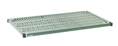 Metro PR1860NK3 Super Erecta Pro Metroseal 3, Epoxy Coated Polymer Standard Open Grid Shelf with Removable Mat, 600 lb. Capacity, 1