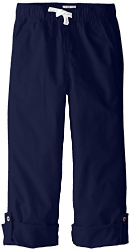 The Children's Place Big Boys' Pull On Roll Up Pant, Tidal, 14