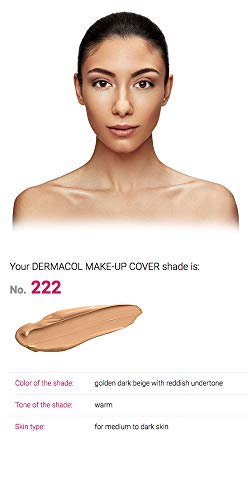Dermacol Make-up Cover - Waterproof Hypoallergenic Foundation 30g100% Original Guaranteed from Authorized Stockists (222)