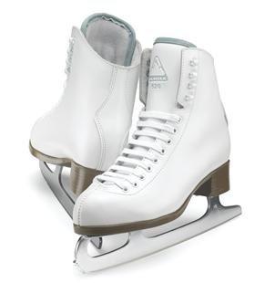 Jackson Ultima Mystique JS1494 White Toddler Ice Skates, Size - Figure Leather Jackson Skates