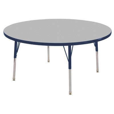 ECR4KIDS ELR14115P4X18-GNVSS Round Activity Table with 4 18