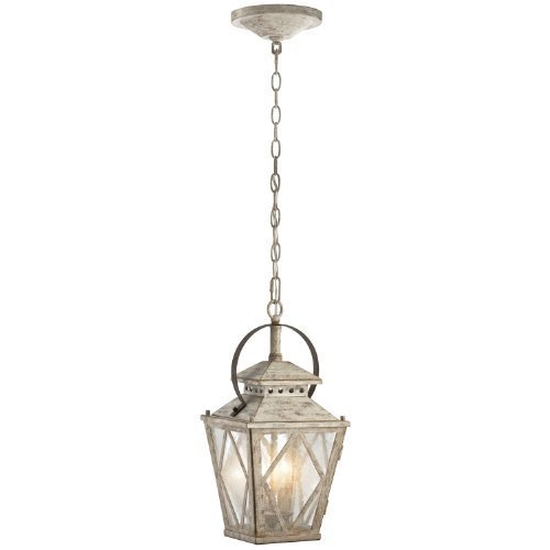 Kichler 43258DAW, Hayman Bay, 2LT Incandescent, Distressed Antique White