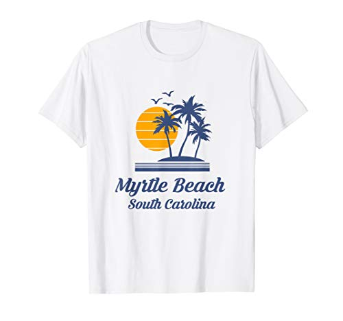 Myrtle Beach South Carolina SC Tourist Vacation Souvenir USA