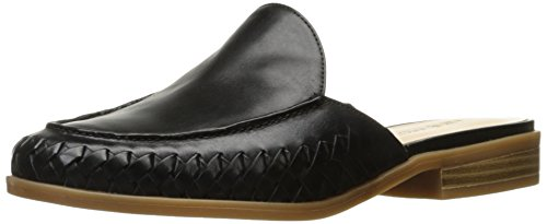 Nine West Women's Juanita Leather Mule Black EXQuaq