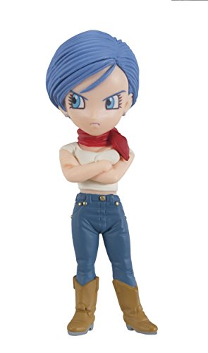 Banpresto Dragon Ball Z 2.8-Inch Bulma Movie World Collectable Figure, Volume -