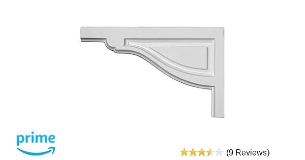 Ekena Millwork SB11X07SA-L Stair Bracket Factory Primed White