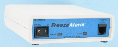 (Control Products Intermediate FreezeAlarm Custom Temperature and Power Outage Alarm FA-I-CCA with voice message to up to 3 phone numbers / Quick Status Check)