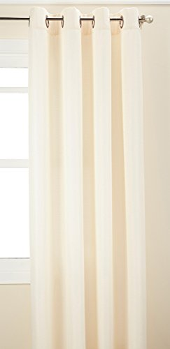 Curtainworks Monterey Grommet Curtain Panel, 52 by 120