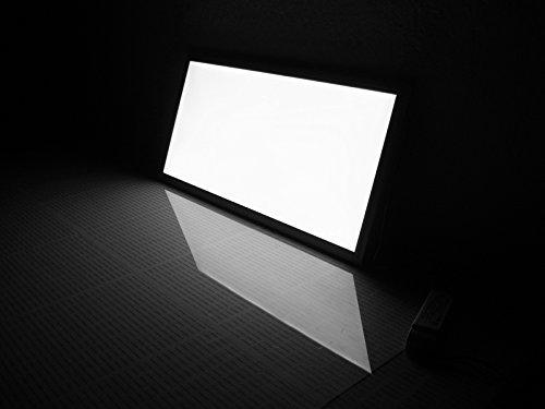 Plafoniera Led Rettangolare : Pannello led 60x30 24w luce bianca rettangolare plafoniera