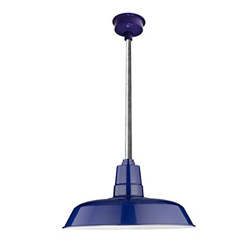 Cobalt Blue Pendant Lights Kitchen