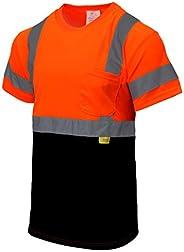 New York Hi-Viz Workwear RK-BFS8511/12 High-Visibility Class 3 T Shirt Parents