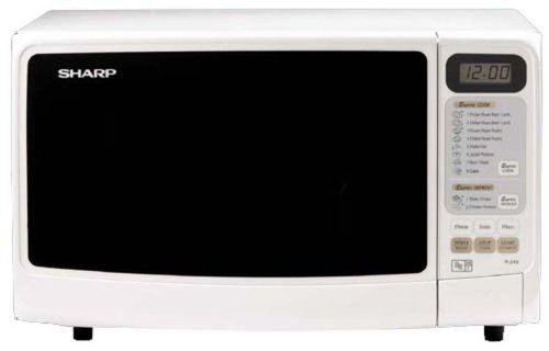 Sharp R-249(W) Compact Solo White 20L 800W Touch Control Microwave Oven