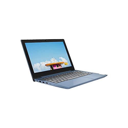Lenovo IdeaPad Slim 1 11.6 Inch HD Laptop – (AMD A4, 4GB RAM, 64GB eMMC, Windows 10 Home S Mode) – Ice Blue