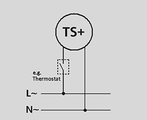 5.11//230 T/ête thermostatique Eberle TS