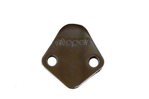 Genuine Mopar P5007546 Chrome Fuel Pump Block-Off (Chrome Fuel Pump Cover)