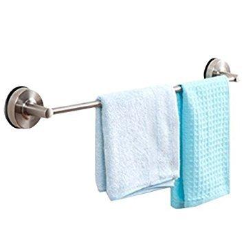 Alicemall 304 Edelstahl Handtuchhalter Saugnapf Handtuchhalterung