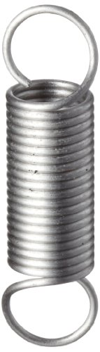 Extension Spring, 302 Stainless Steel, Inch, 0.094