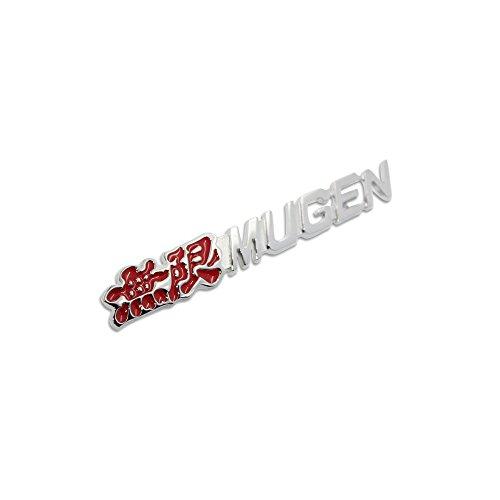 Metal Mugen Front Sport Grille Grill Badge Emblem Decals Fit Honda All Model (Mugen Honda Emblem compare prices)