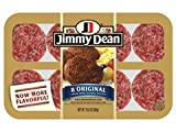 JIMMY DEAN PORK BREAKFAST SAUSAGE PATTIES ORIGINAL 10 OZ PACK OF 3