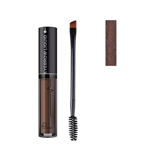 Chiak Women Waterproof No Fade Liquid Tattoo Eyebrow Gel Brush Makeup Liner & Shadow Combinations