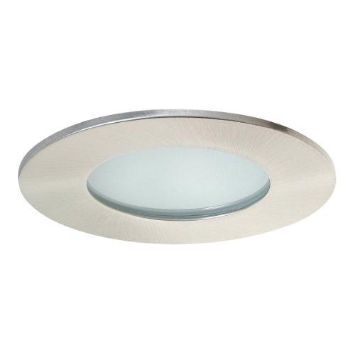 "Bathroom Recessed Lighting Kit: Globe Electric 4"" Damp Rated Shower Recessed Lighting Kit"