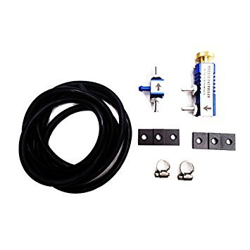 (Rev9 ( Ac-008-blue ) Manual Boost Controller Universal Adjustable Racing Turbo 30psi Manual Boost Bypass Controller Kit)