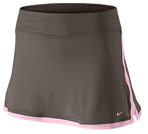 (Nike Border Skirt (Brown/Pink,)