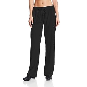 Champion Women's Jersey Pant, Black, Large