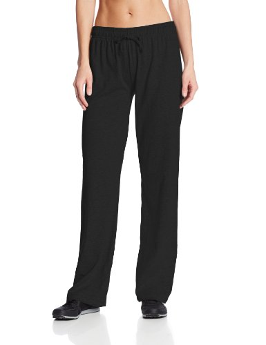 Champion Women's Jersey Pant, Black, Medium ()