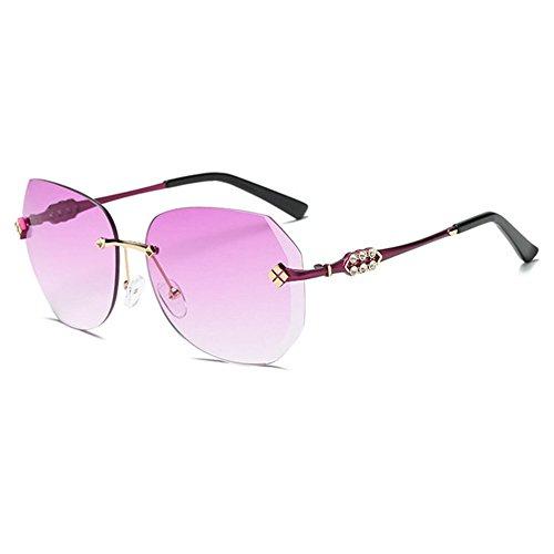 lunettes Pointe diamant Aoligei Dame sans cadre de soleil de xA4AwpF