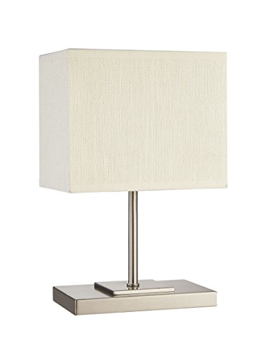Cheap  Table Lamp, DILI HOME Bedside Desk Lamp With Paper Fabric Shade and..