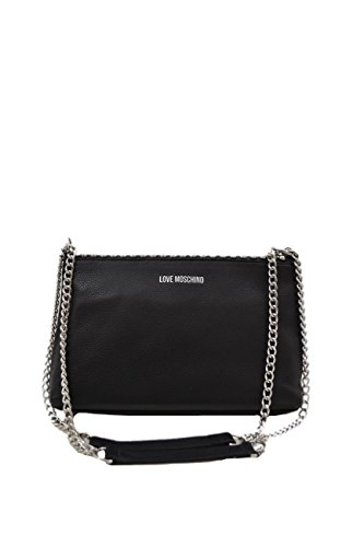Love Moschino BORSA VITELLO PEBBLE Nero