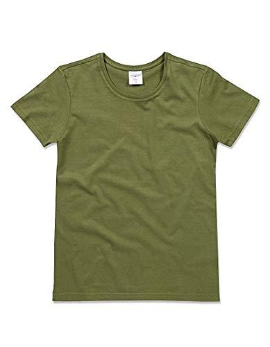 2store24 Hunters camiseta para corta Classic redondo mujer de Green con manga cuello UU14Zgxwrn
