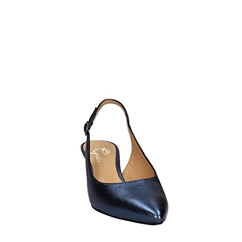 Shoes Donna Grace 867 Blu Tacco Sandalo gqwwd1R