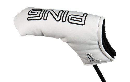 Ping Putter Headcovers - Ping Golf 2014 Heel-Toe Putter Headcover NEW White [Misc.]