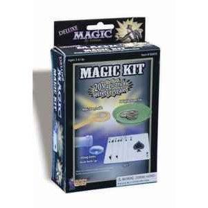 Forum Novelties 62605 Deluxe Magic Kit - 20 Magic Trick Secrets (Halloween Magic Tricks Revealed)