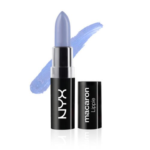 Semi Matte Violet (NYX Macaron Lippies Lipstick MALS 1 Color#EARL GREY)