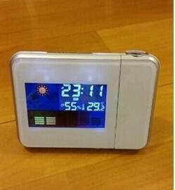 Zantec Estación meteorológica LingStar Reloj despertador digital LED Pantalla colorida blanco: Amazon.es: Hogar