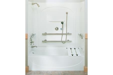 Sterling 71090125-47 Acclaim ADA Bath and Shower Kit w/ Grab Bars ...