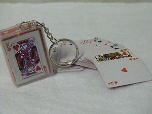 Ardisle Playing Cards Deck Keyring Mini Poker Camping