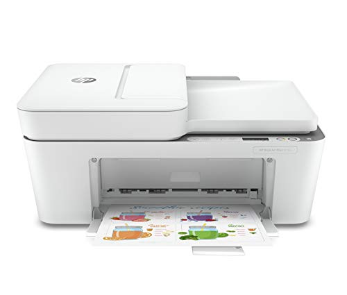 HP DeskJet Plus 4155 Wireless All-in-One Printer, Mobile Print, Scan & Copy, HP Instant Ink Ready, Auto Document Feeder…