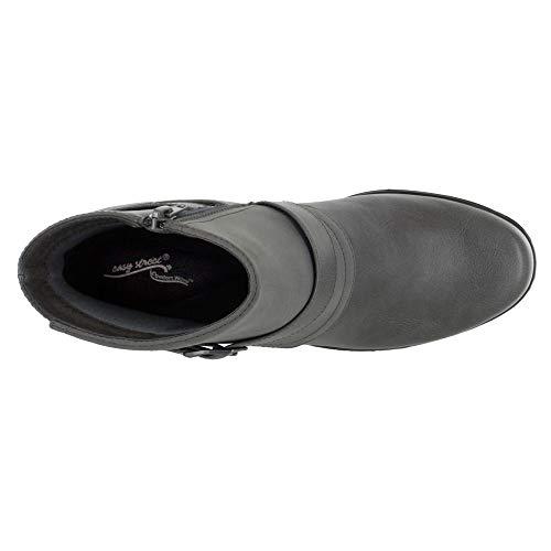 Matte Women's Grey Amanda Easy Boot Street Ankle nxYw5q60pS