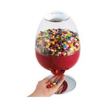 amazon com brookstone candyman motion activated candy dispenser